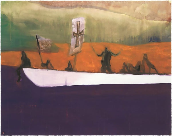 Peter Doig, Untitled (Canoe), 2018 - Lougher Contemporary