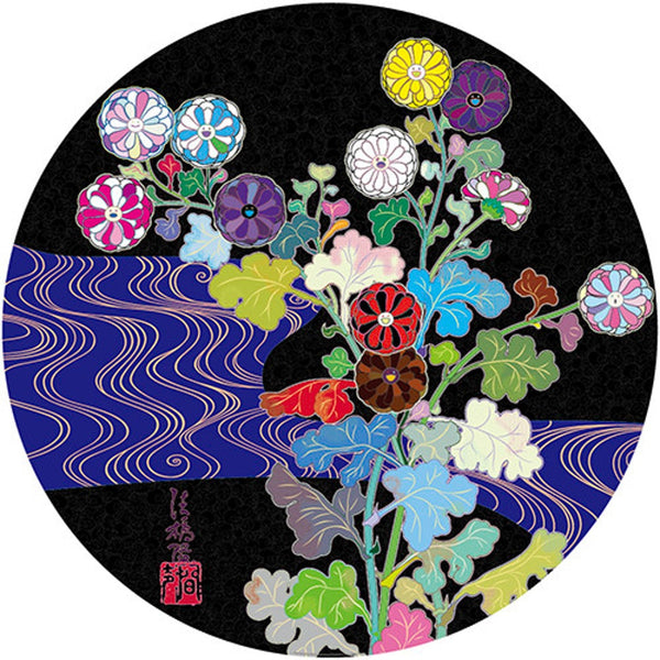 Takashi Murakami Korin: Azure River, 2015 - Lougher Contemporary