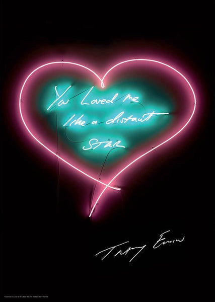 Tracey Emin, You Loved Me Like a Distant Star, 2016 - Lougher Contemporary