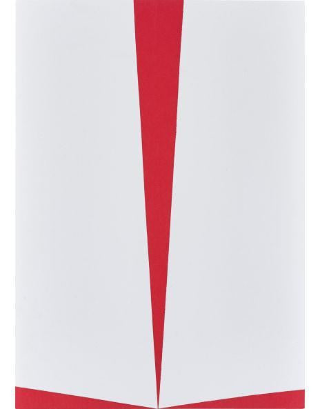 Carmen Herrera, Untitled (Red and White), 2011 - lougher-contemporary