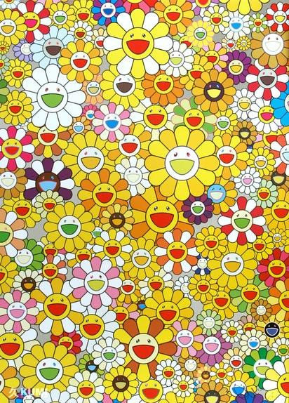 Takashi Murakami, An Homage to Monogold 1960 A, 2012 - Lougher Contemporary