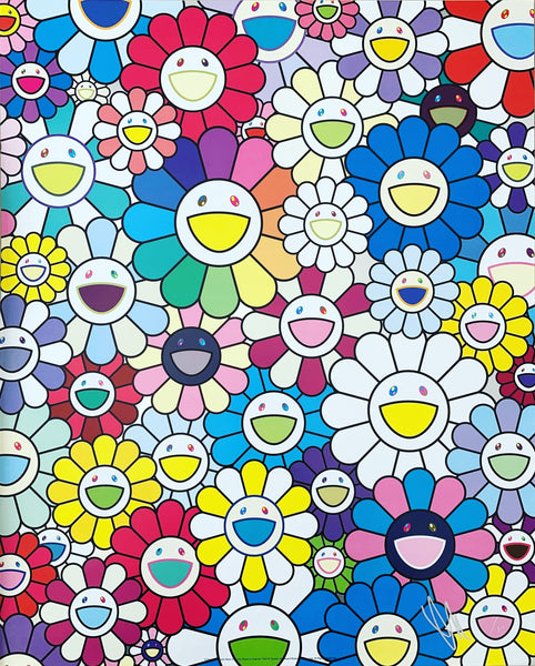 Takashi Murakami, A Field of Flowers Seen from the Stairs to Heaven, 2018 - Lougher Contemporary