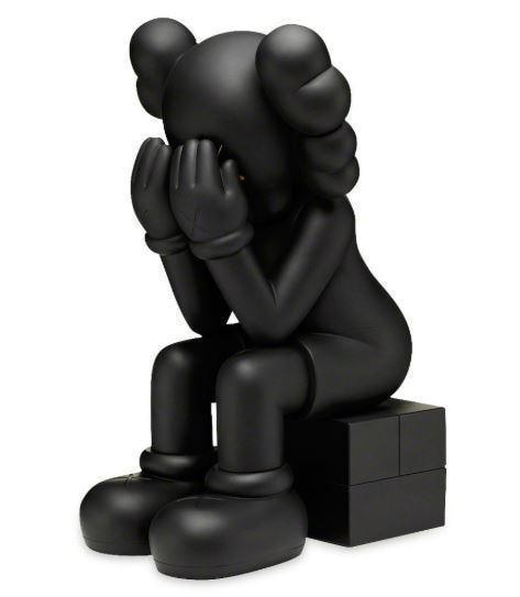 KAWS, Passing Through (Black), 2013 - lougher-contemporary