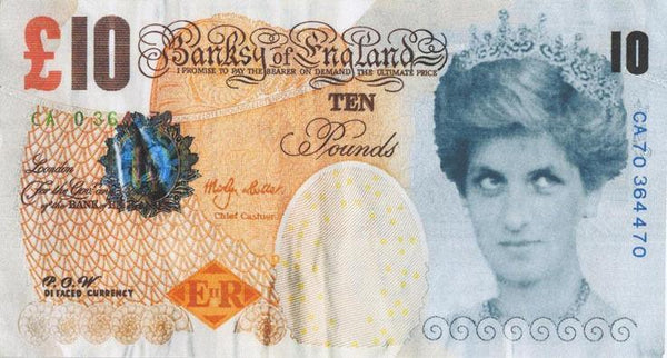 Banksy, Di-Faced Tenner, 2004-Lougher Contemporary