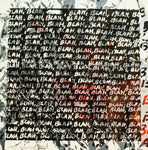 Mel Bochner, Blah Blah Blah + Background Noise #80, 2013 - Lougher Contemporary