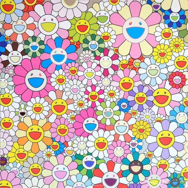 Takashi Murakami, Flower Smile, 2011 - Lougher Contemporary