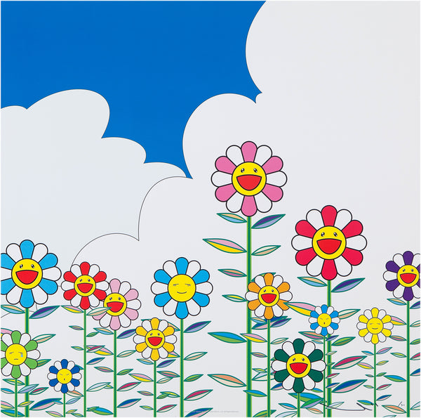 Takashi Murakami, Flower 2, 2002 - Lougher Contemporary
