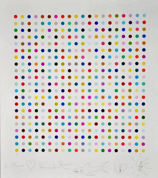 Damien Hirst, Hypothalamus Acetone Powder, 2012 - Lougher Contemporary