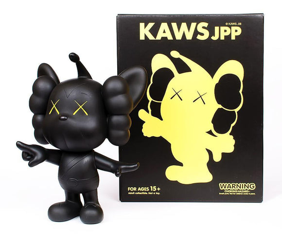 KAWS, JPP (Black), 2008 - lougher-contemporary