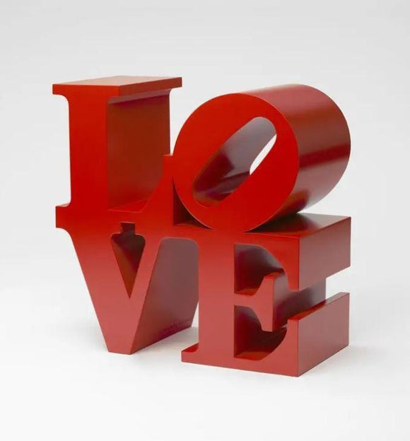 Robert Indiana, LOVE (Red) - lougher-contemporary