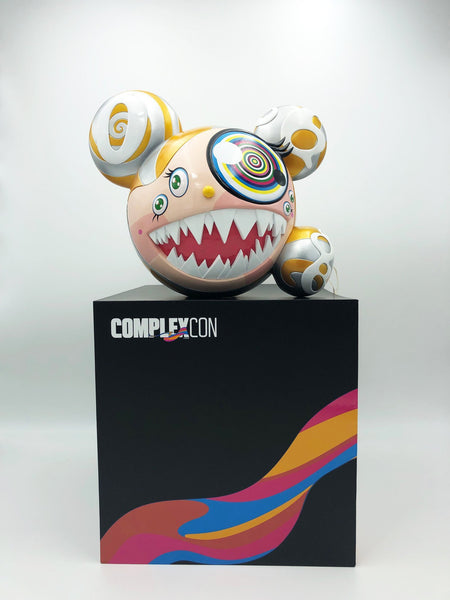 Takashi Murakami, Mr DOB Figure By BAIT x SWITCH Collectibles - Gold edition, 2016 (Signed) - Lougher Contemporary