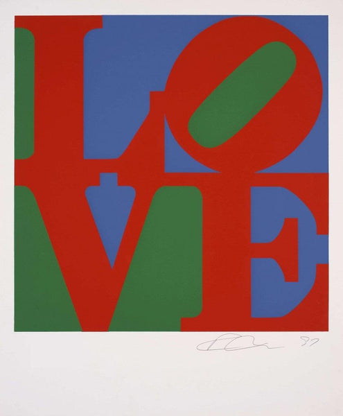 Robert Indiana, LOVE (Classic), 1997 - Lougher Contemporary