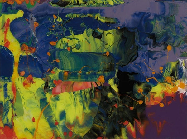 Gerhard Richter, Aladin (Flow P11), 2014 - Lougher Contemporary