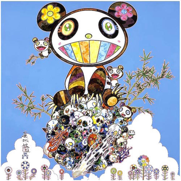 Takashi Murakami, Panda Family - Happiness, 2016 - lougher-contemporary