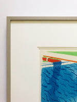 David Hockney, Pool Made with Paper and Blue Ink (from Paper Pools), 1980-Lougher Contemporary