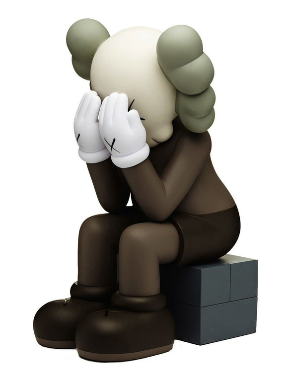 KAWS, Passing Through (Brown), 2013 - lougher-contemporary
