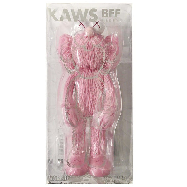 KAWS, BFF (Pink), 2017 - Lougher Contemporary
