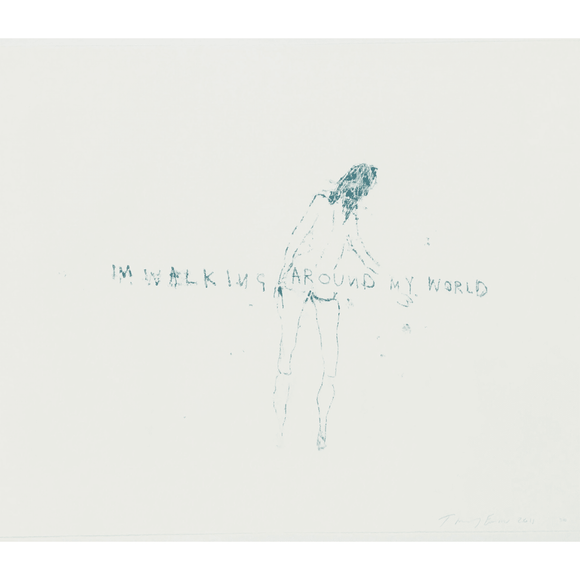 Tracey Emin, I'm Walking Around My World, 2011 - lougher-contemporary