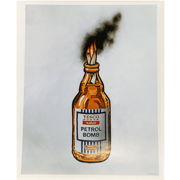 Banksy, Tesco Value Petrol Bomb, 2011-Lougher Contemporary