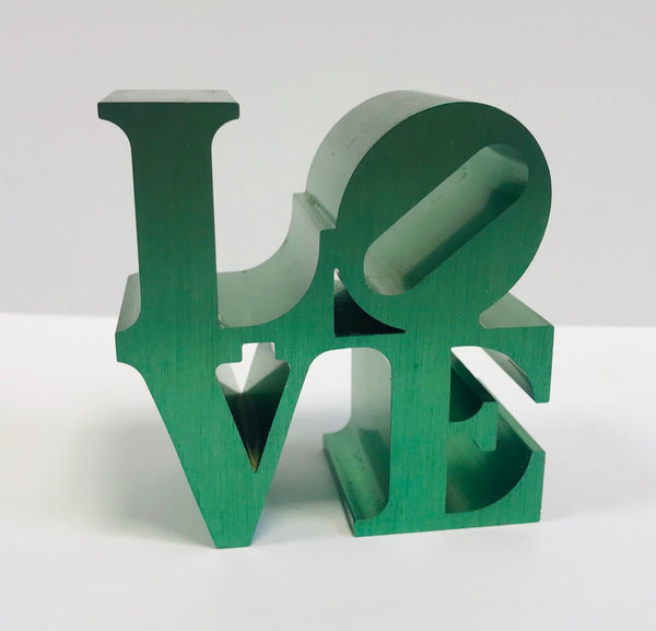 Robert Indiana, LOVE (Green), 2009 - Lougher Contemporary