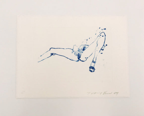 Tracey Emin, Suffer Love (from One Thousand Drawings), 2009 - lougher-contemporary