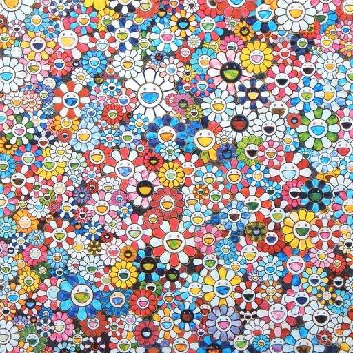 Takashi Murakami, The Future Will Be Full of Smile for Sure!, 2013 - Lougher Contemporary