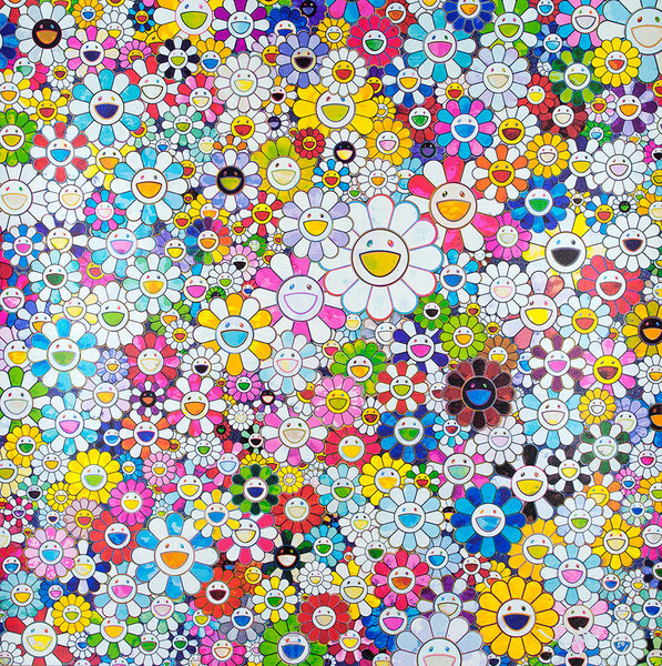 Takashi Murakami, When I Close My Eyes, I See Shangri-La, 2012 - Lougher Contemporary