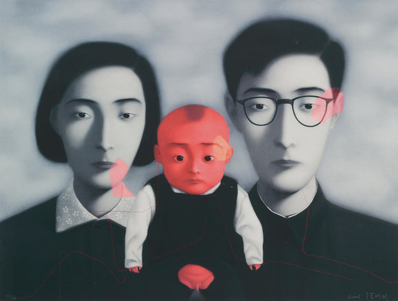 Zhang Xiaogang, Bloodline: Big Family, 2006 - lougher-contemporary