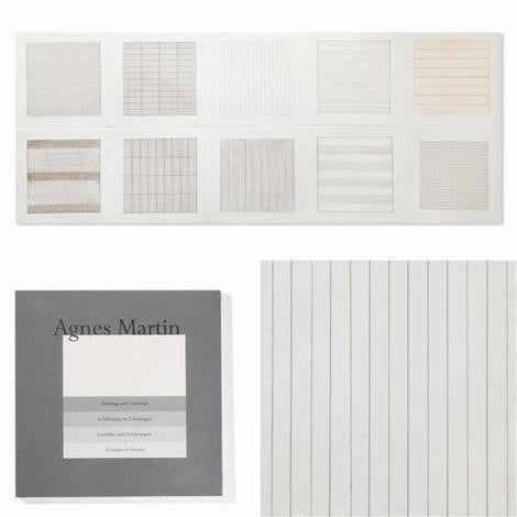 Agnes Martin, Untitled (from Paintings and Drawings: 1974-1990), 1991 (Sealed) - lougher-contemporary