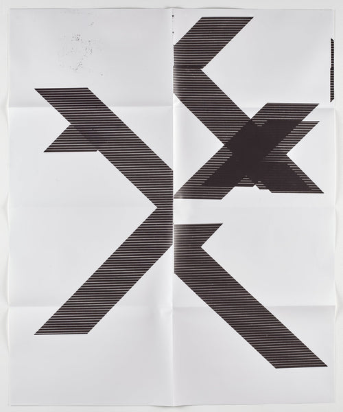 Wade Guyton, X Poster (Untitled, 2007, WG1210), 2018 - Lougher Contemporary
