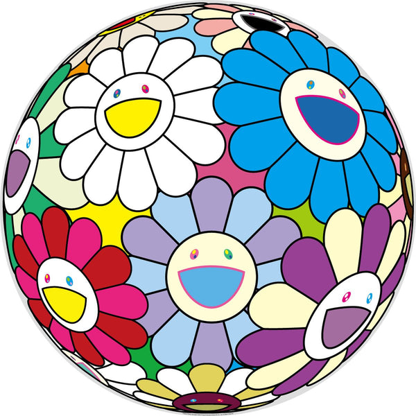 Takashi Murakami, Festival Flower in Decoration, 2018 - Lougher Contemporary