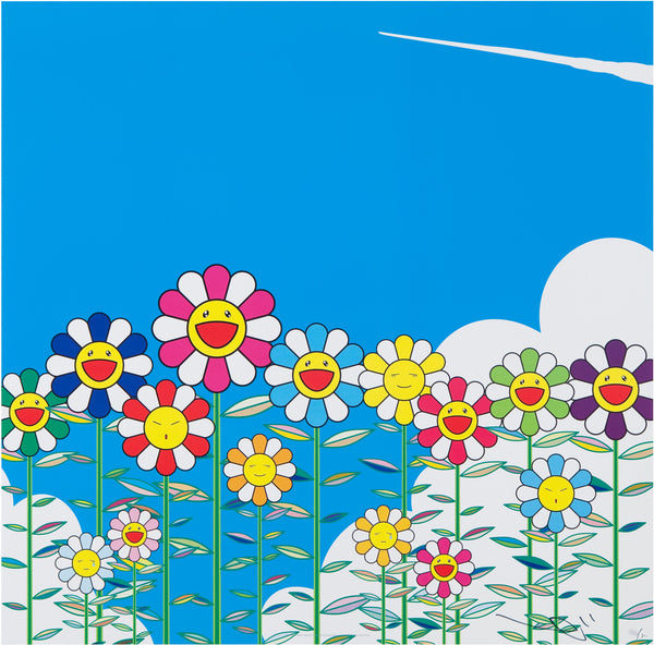Takashi Murakami, Flower, 2002 - Lougher Contemporary