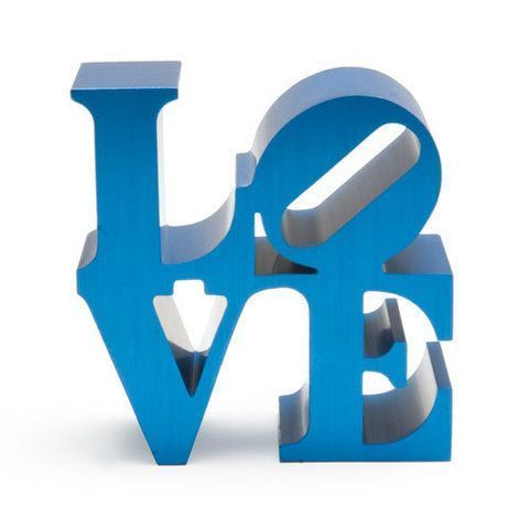 Robert Indiana, Love (Blue), 2009 - Lougher Contemporary