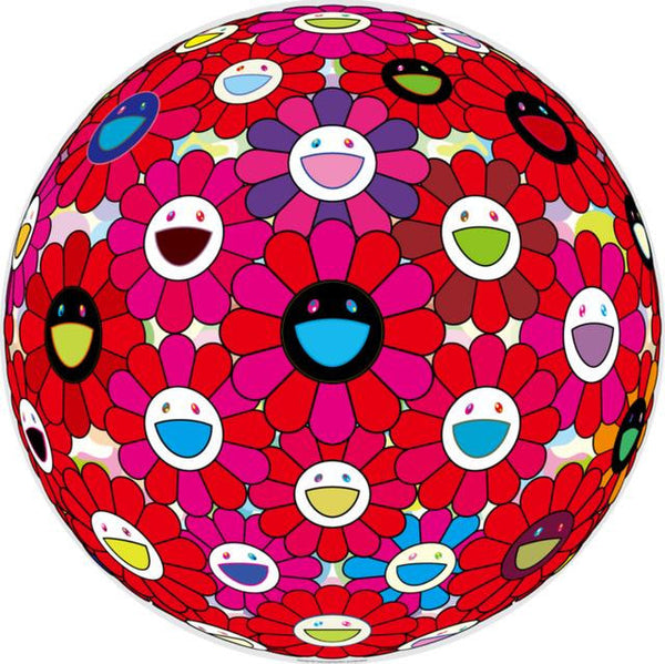 Takashi Murakami, Burning Blood, 2018 - Lougher Contemporary