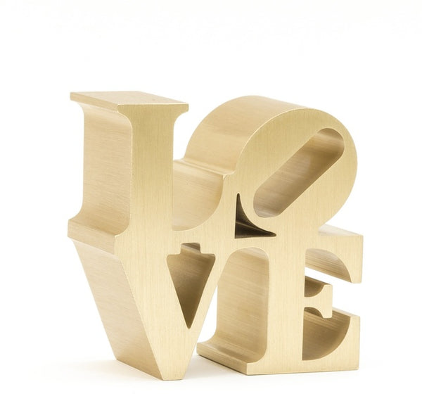 Robert Indiana, LOVE (Gold), 2009 - Lougher Contemporary