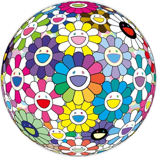 Takashi Murakami, Prayer at the Festival, 2017 - Lougher Contemporary
