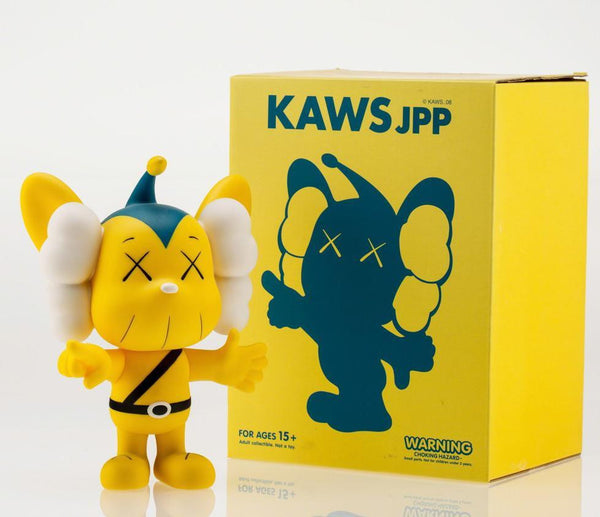 KAWS, JPP (Yellow), 2008 - Lougher Contemporary