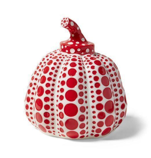 Yayoi Kusama, Pumpkin (Red and White), 2015 - lougher-contemporary