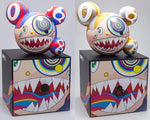 Takashi Murakami, Mr DOB Figure By BAIT x SWITCH Collectibles - Red and Gold Set - Lougher Contemporary