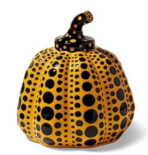 Yayoi Kusama, Pumpkin (Yellow and Black), 2015 - lougher-contemporary
