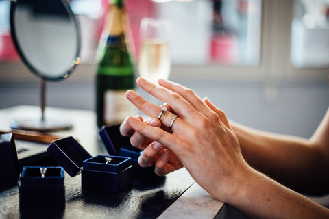 WEdding and Engagement rings at Davidsons the Jewellers