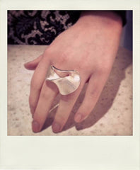 Lapponia Silver Wavelike Ring