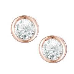 Raindrop Diamond Stud Earrings
