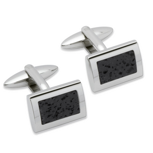 Steel Lava Cufflinks