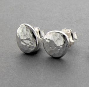 Ripple Pebble Studs