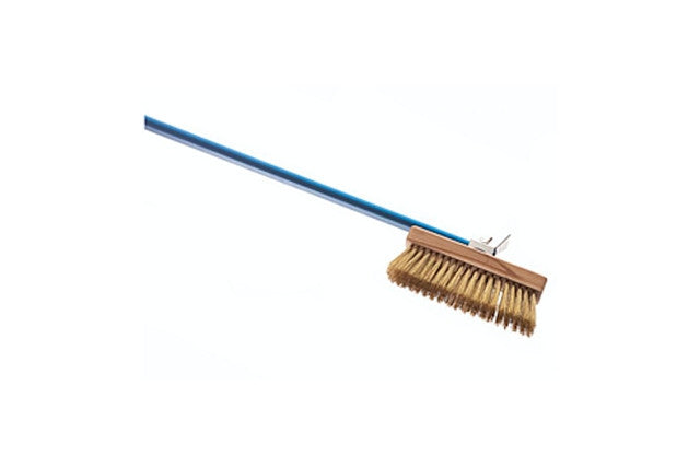 WH | Rotating Head Oven Brush Brass Bristles