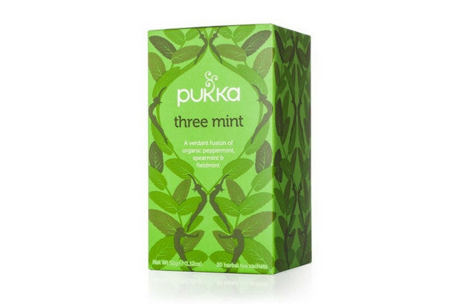 Pukka Three Mint Tea (4x20)