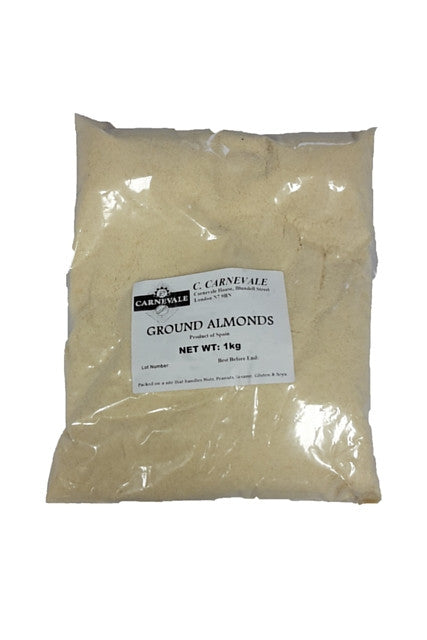 Almonds Ground Blanched (1kg)