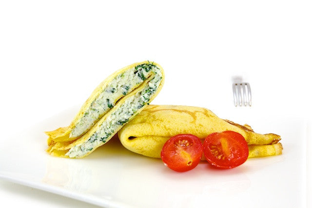 Crespelle (Ricotta and Spinach)