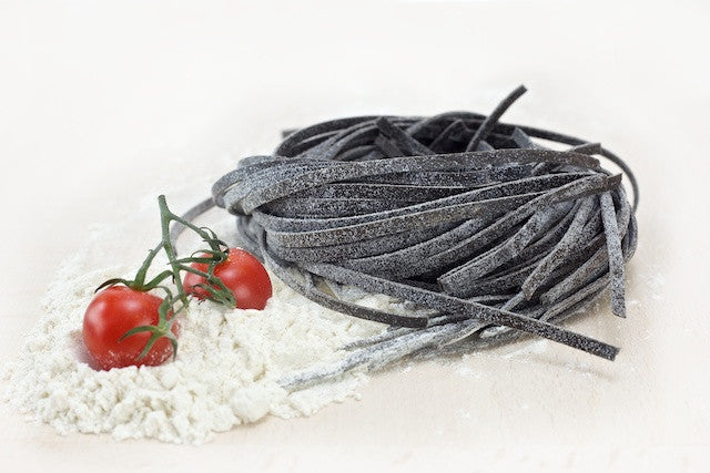 Linguine with Squid Ink
